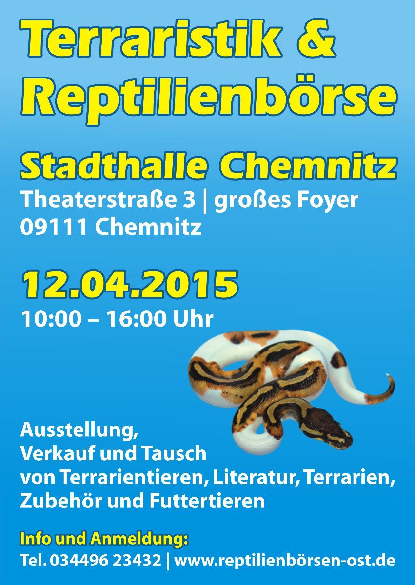 Reptilienbörse Chemnitz